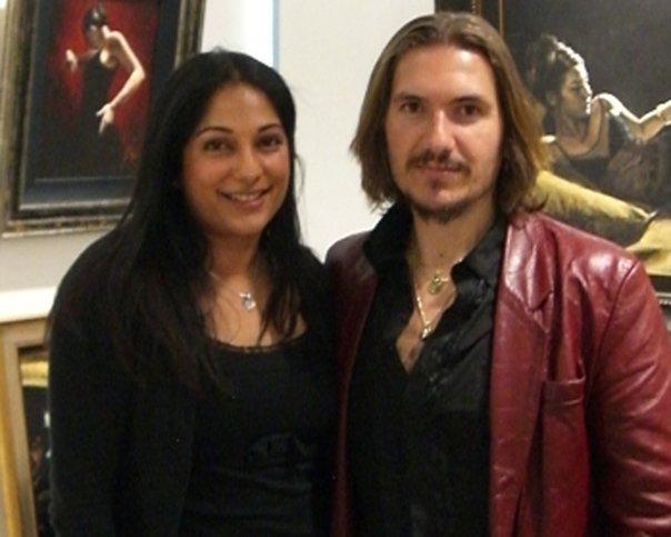 With Fabian Perez 2008