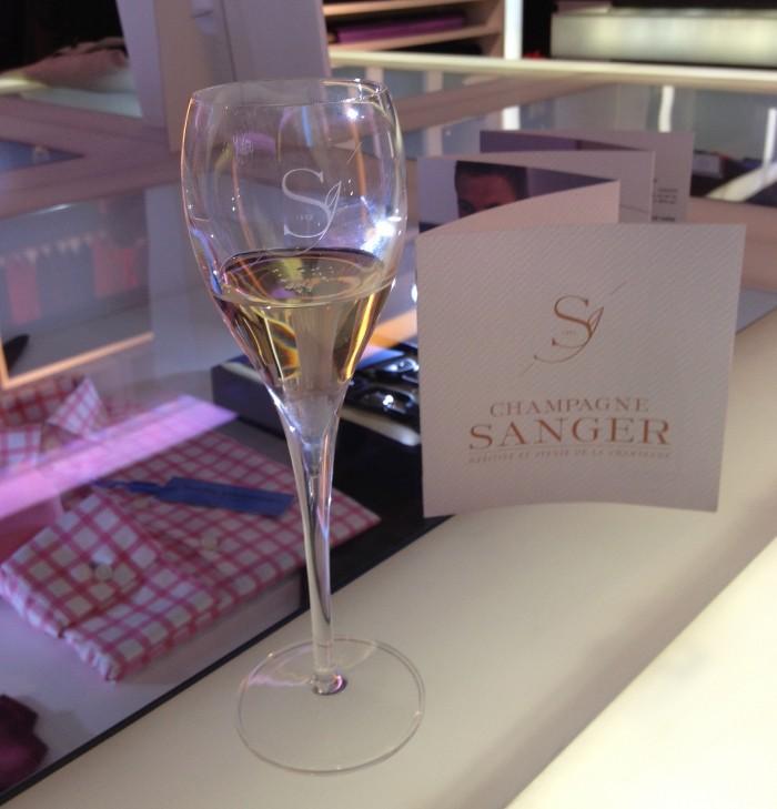 Sanger champagne tasting