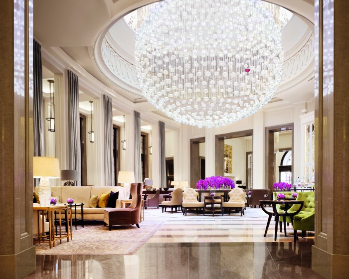The Lobby Lounge Corinthia Hotel London