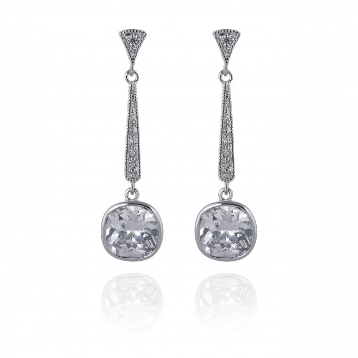 Matilda simulated diamond earrings £44.99